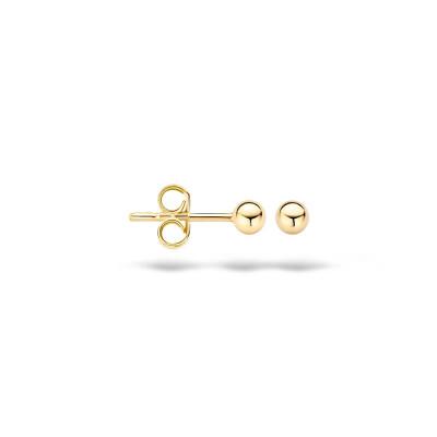 Oorringen geel goud bol 3mm - 30-00703-0070F