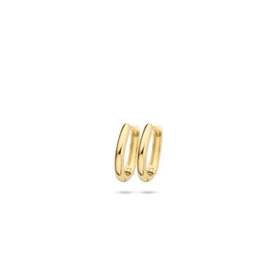 Blush - creolen 14kt geel goud - 7224YGO