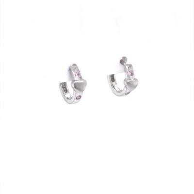 Oorringen - creolen zilver - 37-10199-613-71