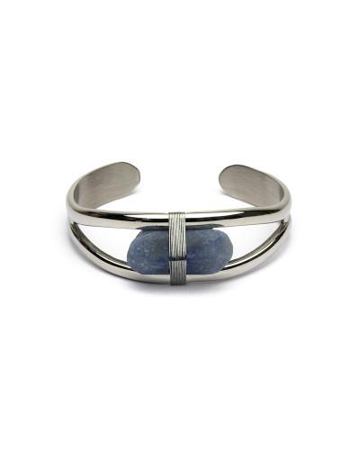 Didyma - Armband voor dames met edelstenen - Blauwe aventurijn - AT1