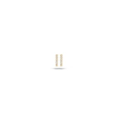 Blush - oorring 14kt geel goud - 7196YZI