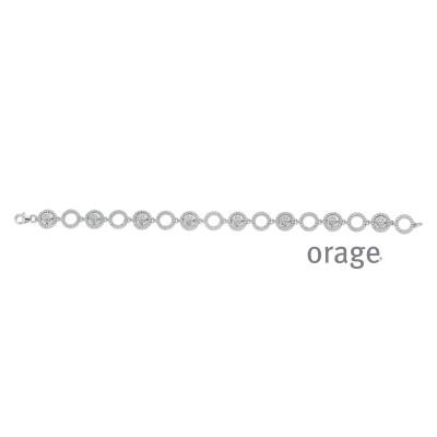 Orage - Armband in zilver met zirkonium - AP106