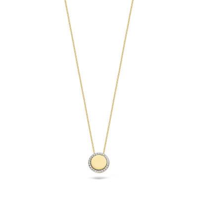 Blush - collier 14kt geel goud met cz - 3124YZI