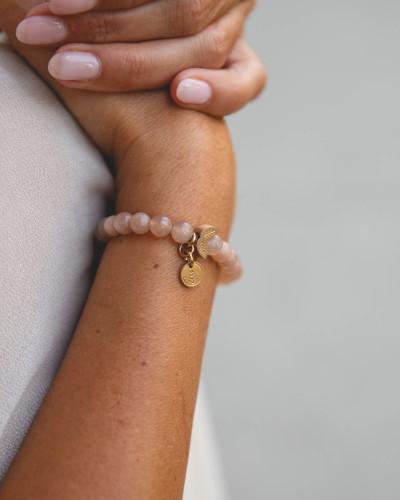 Didyma - Armband voor dames met edelstenen - Zonnesteen - NE2 - S