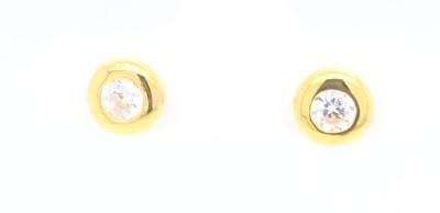 Zilveren Oorringen in Plaqué or 30-11035-011-99
