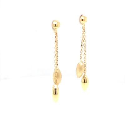 Femme adoree - oorslingers 18kt geel goud - 02S0206