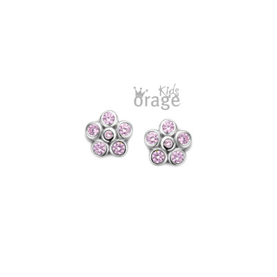 Orage - kinderoorringen zilver - K2015 - O/4886/A