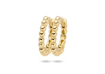 Blush - creolen 14kt geel goud - 7263YGO