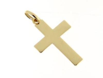 Geel Gouden Kruis 18kt