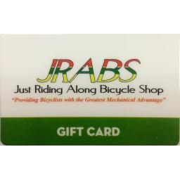 JRABS Gift Card - Free shipping!