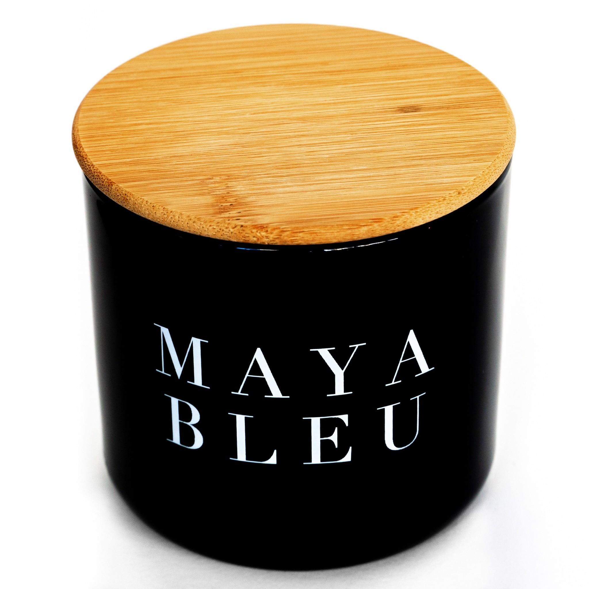 Maya Bleu Shark Tooth Candle Black 16oz