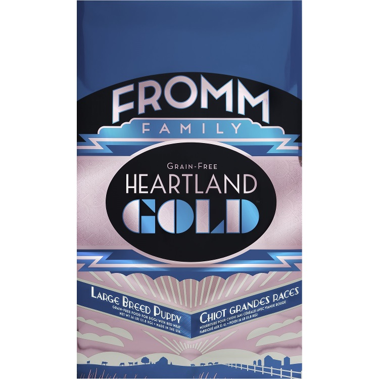 Fromm Heartland Gold Grain-Free Large Breed Puppy Dry Dog Food 26lbs