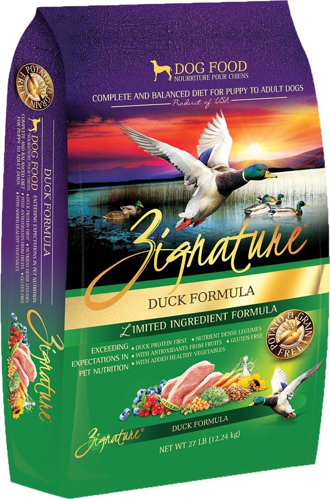 Zignature Grain-Free Duck Limited Ingredient Formula Dry Dog Food 27lbs