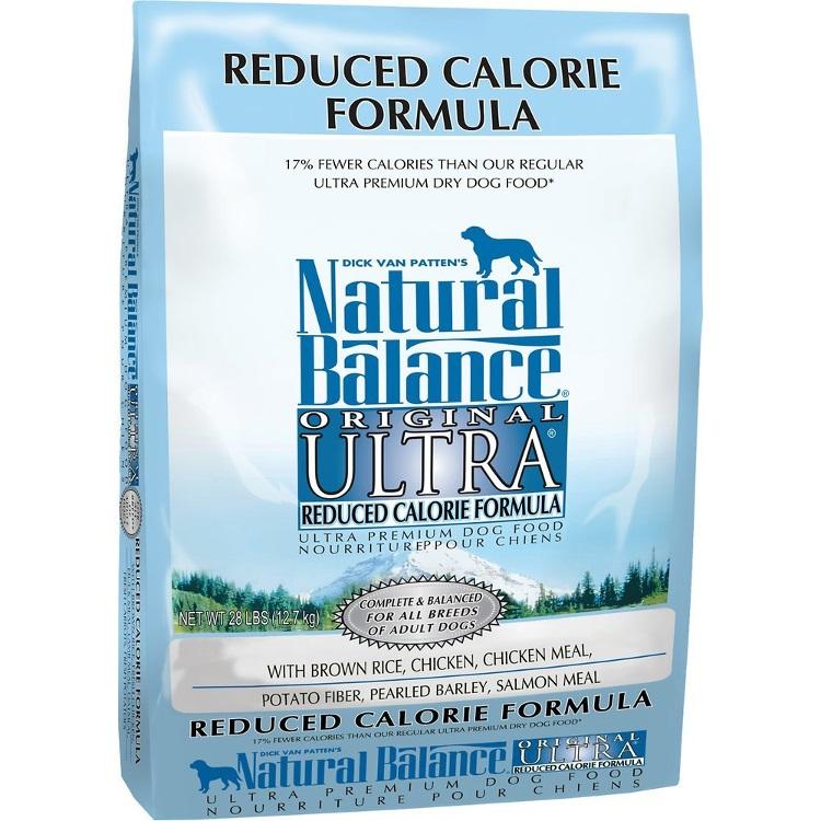 Natural Balance Original Ultra Reduced Calorie Formula Dry Dog Food 28lbs