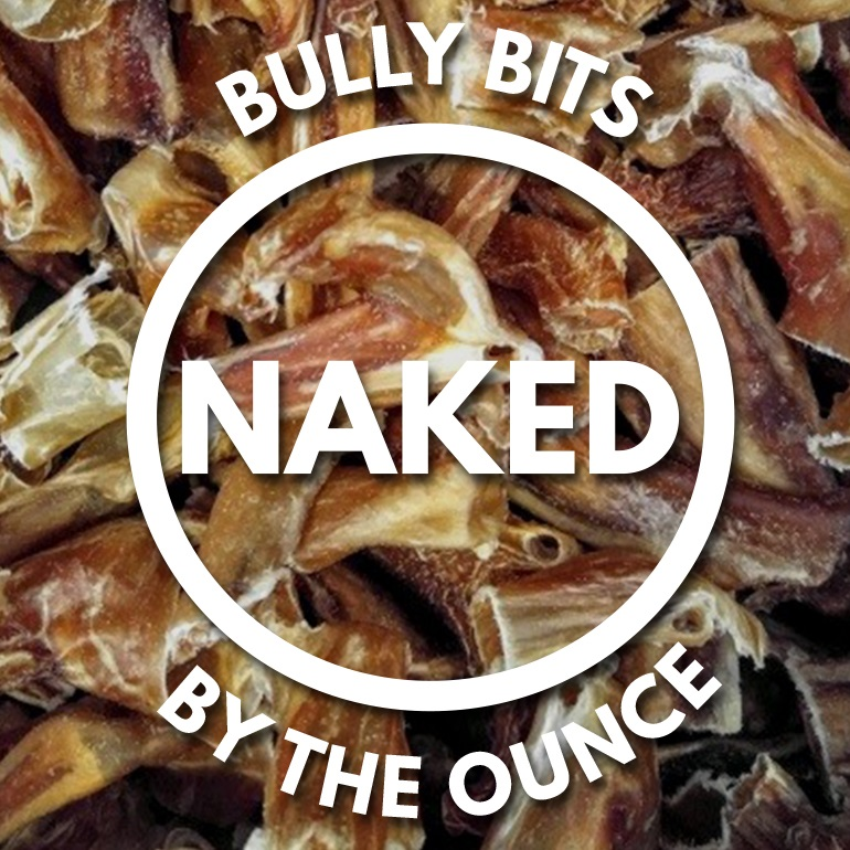 Naked Bully Bits Dog Treats By the Ounce