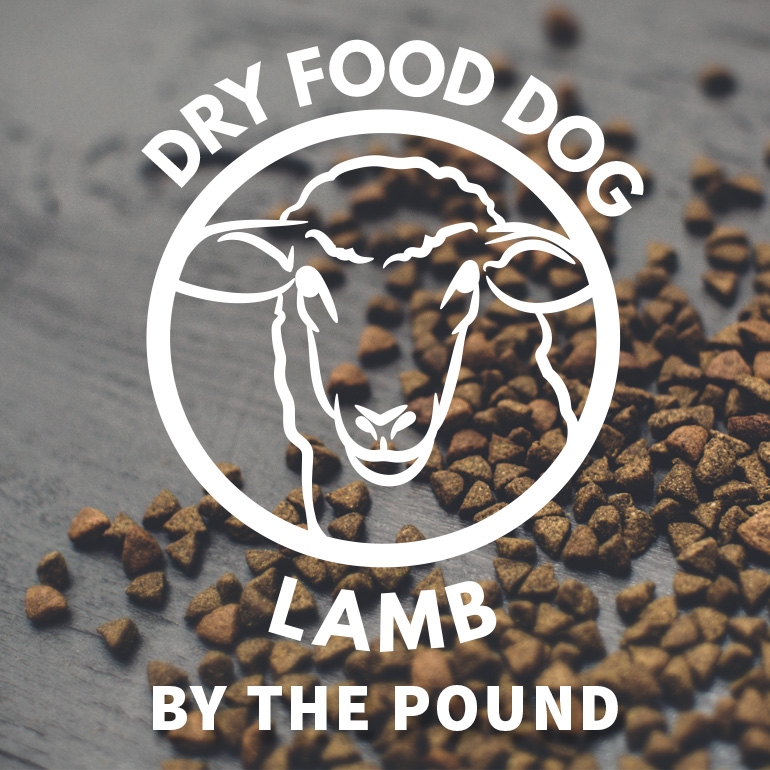 DOG Naked Lamb and Brown Rice DRY Food By the Pound