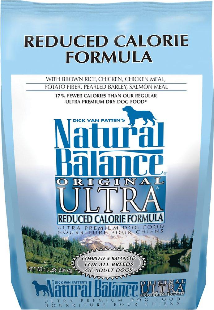 Natural Balance Original Ultra Reduced Calorie Formula Dry Dog Food 4.5lbs