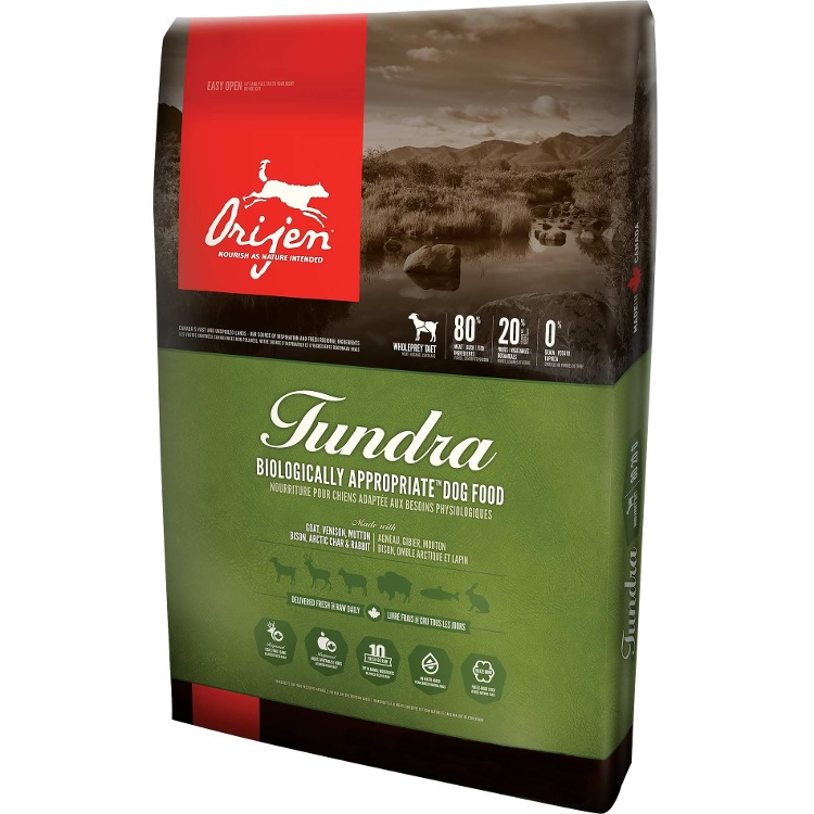 Orijen Tundra Grain-Free Dry Dog Food 25lbs