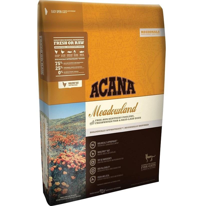ACANA Meadowland Regional Grain-Free Dry Cat & Kitten Food 4lbs