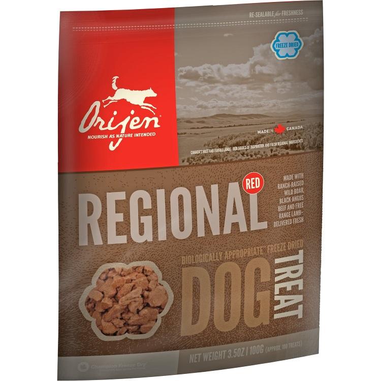 Orijen Regional Red Freeze Dried Grain-Free Dog Treats 3.25z