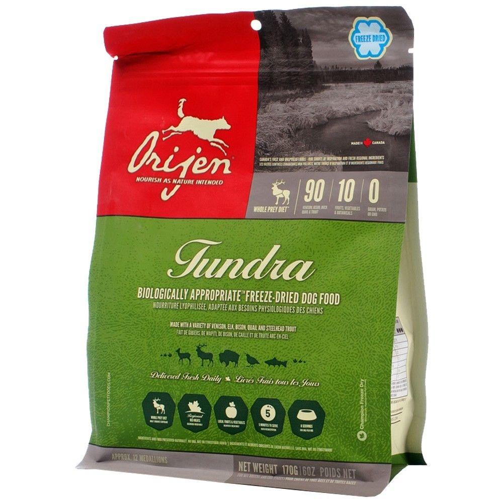 Orijen Tundra Freeze Dried Dog Food 0.37lbs