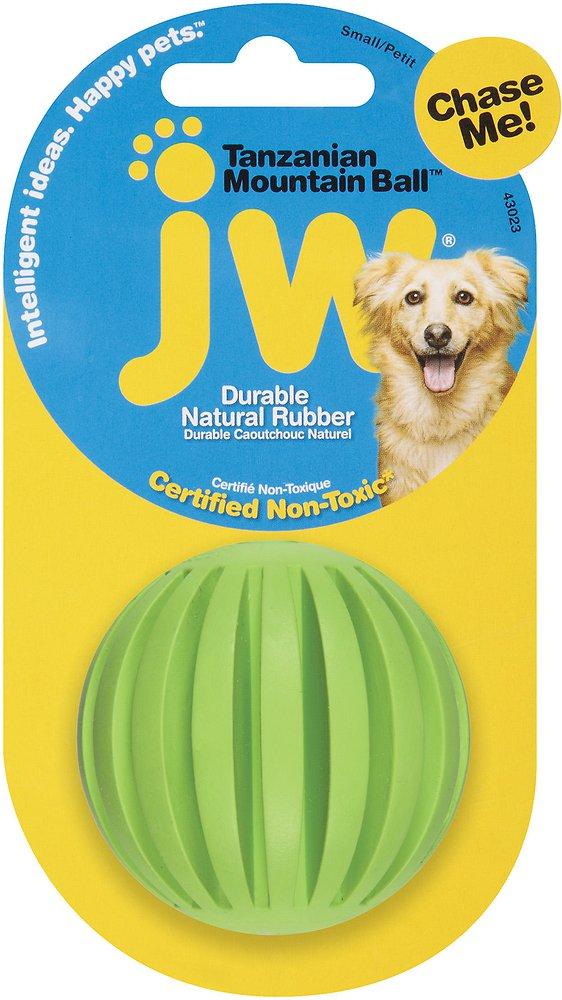JW Pet Tanzanian Mountain Treat Ball Dog Toy