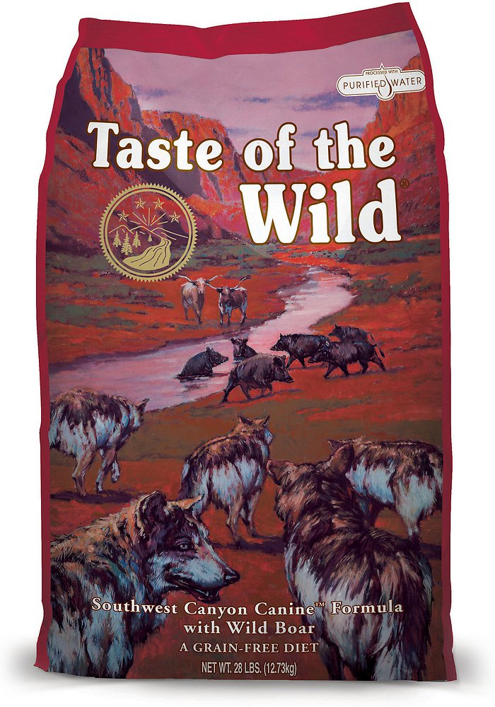 Taste of the Wild Southwest Canyon Dry Dog Food 5lbs