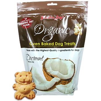 Grandma Lucy's Organic Coconut Oven Baked Dog Treats 14z