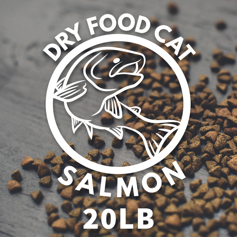 Naked Grain-Free Salmon and Chickpea Dry CAT Food 20lbs