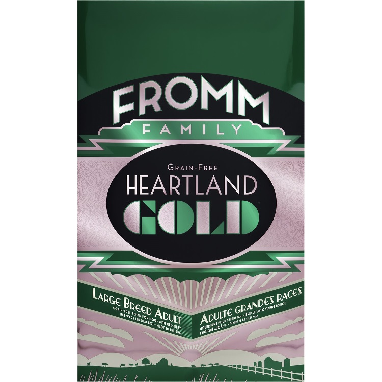 Fromm Heartland Gold Grain-Free Large Breed Adult Dry Dog Food 26lbs