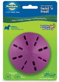 Petsafe Busy Buddy Twistn Treat Dog Toy - Small