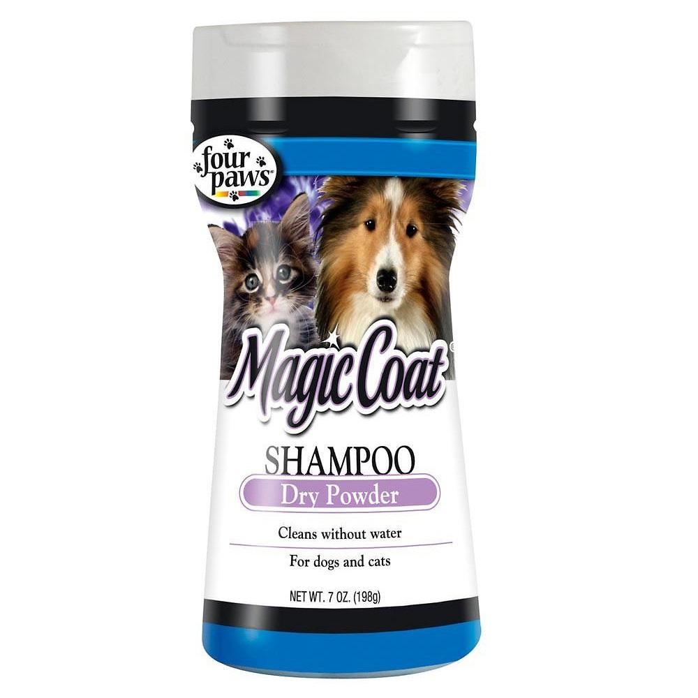 Four Paws Magic Coat Dry Shampoo Powder for Dog & Cat 7z