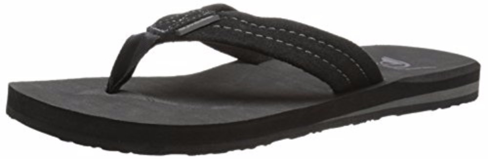 4e80e801d1bf Quiksilver Carver Suede Sandals AQYL100030 10 Solid Black. About this  product. Picture 1 of 4  Picture 2 of 4  Picture 3 of 4  Picture 4 of 4