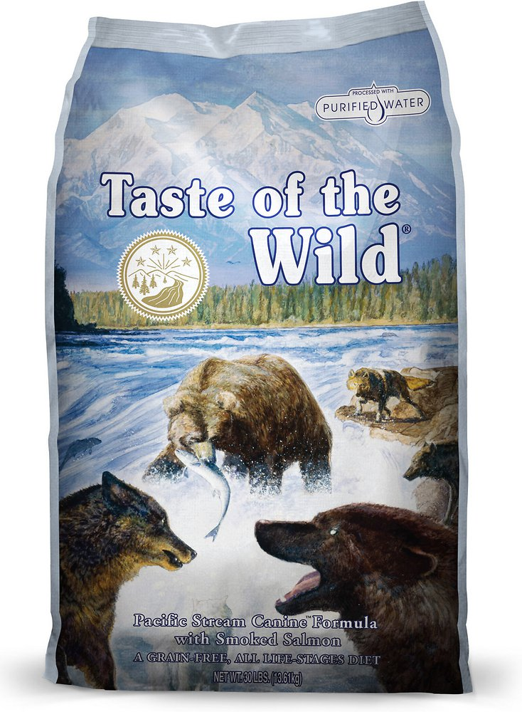 Taste of the Wild Pacific Stream Dry Dog Food 30lbs