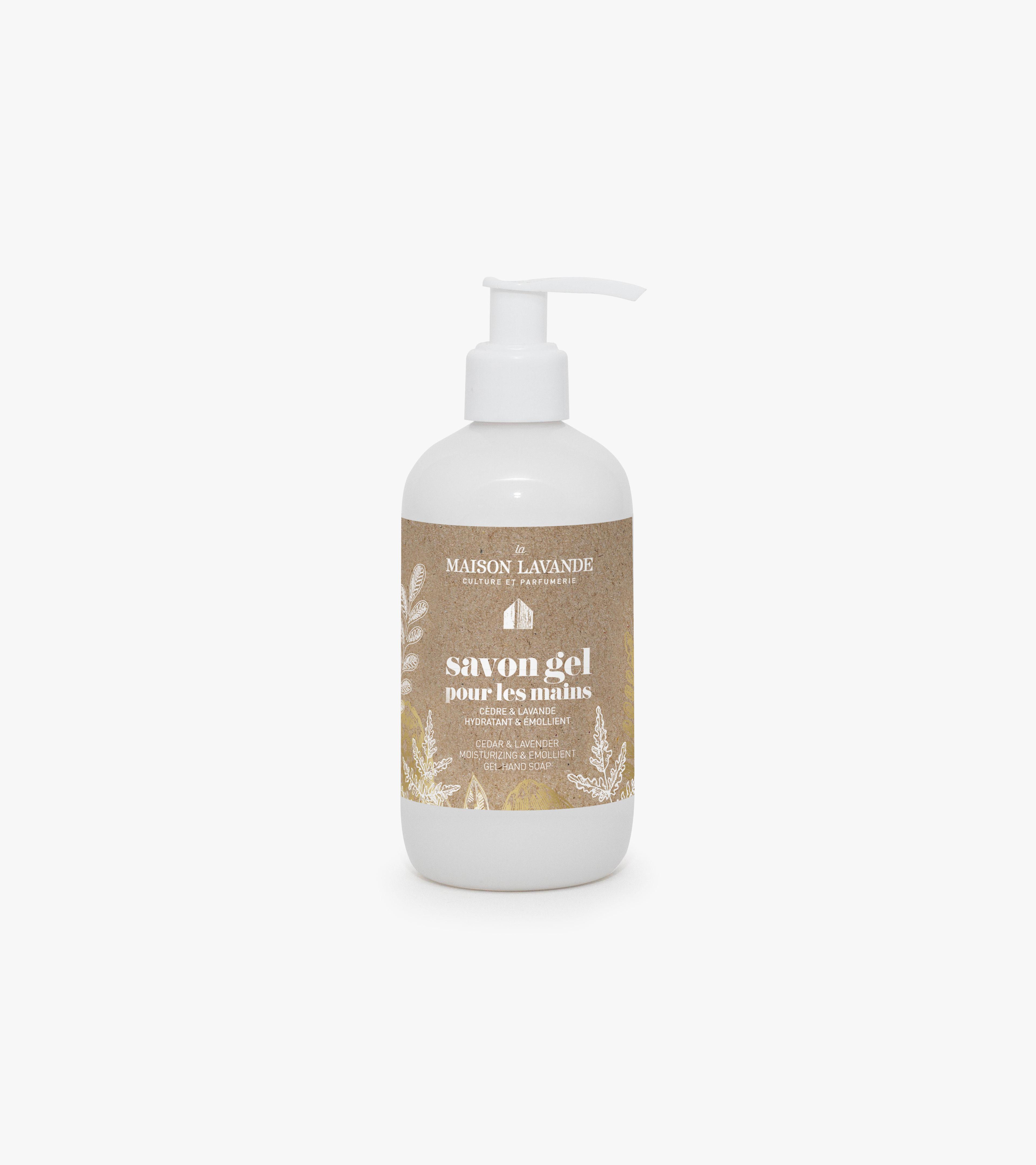 Savon pour les mains - Cèdre & lavande - 250ml