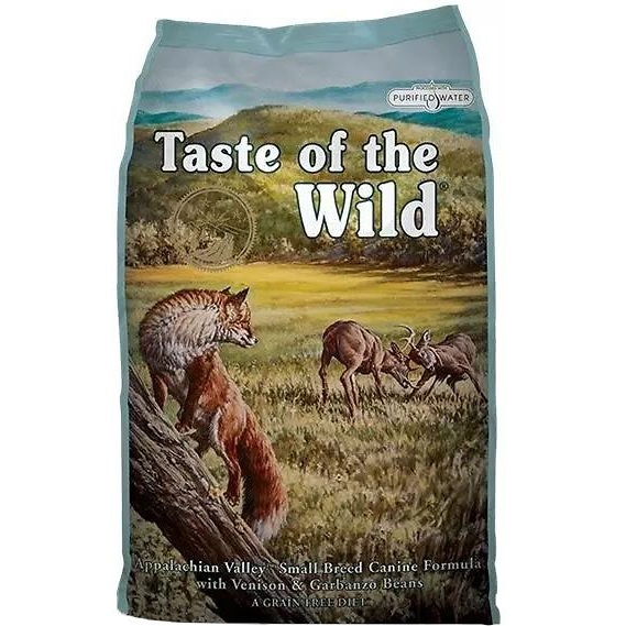 Taste of the Wild Appalachian Valley Small Breed Grain-Free Dry Dog Food 5lbs