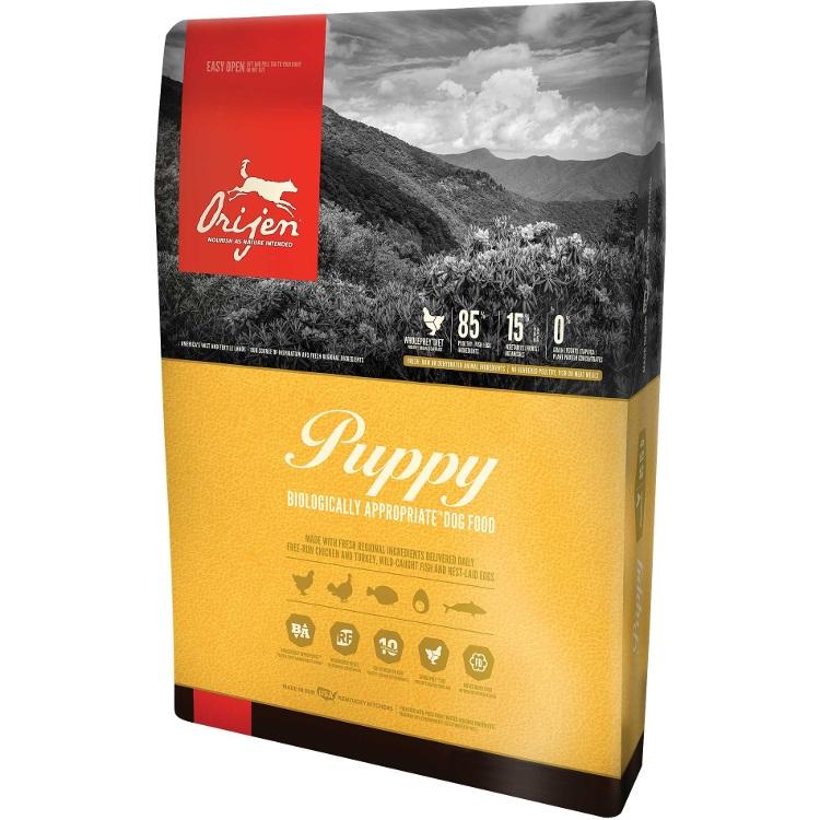 Orijen Puppy Grain-Free Dry Dog Food 25lbs
