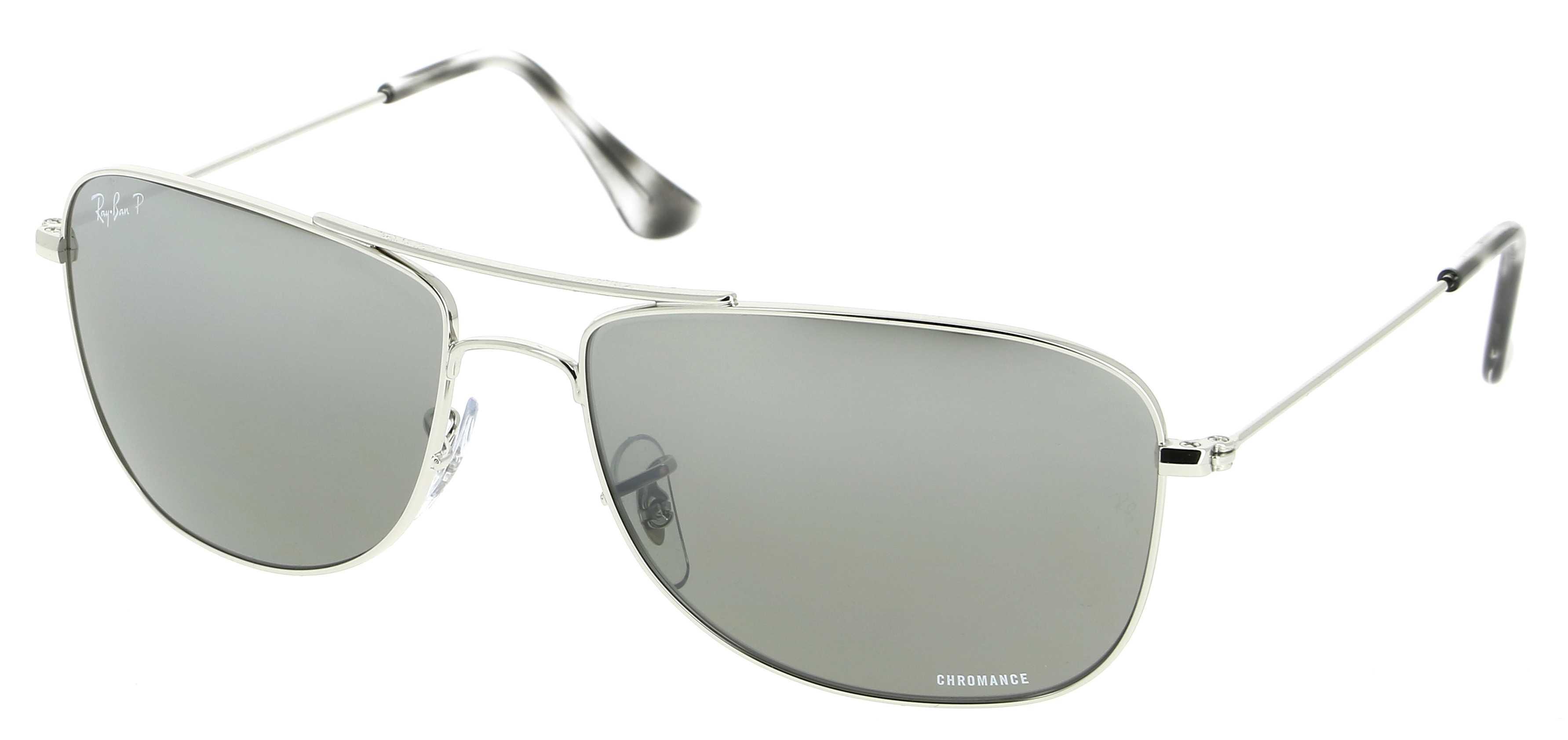 a3dafb1e0f2 Ray Ban Chromance Polarized Sunglasses Silver Grey Mirror ...