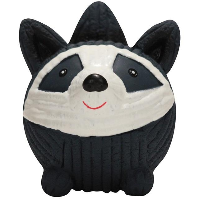 HuggleHounds Ruff-Tex Raccoon Knottie Large Dog Toy