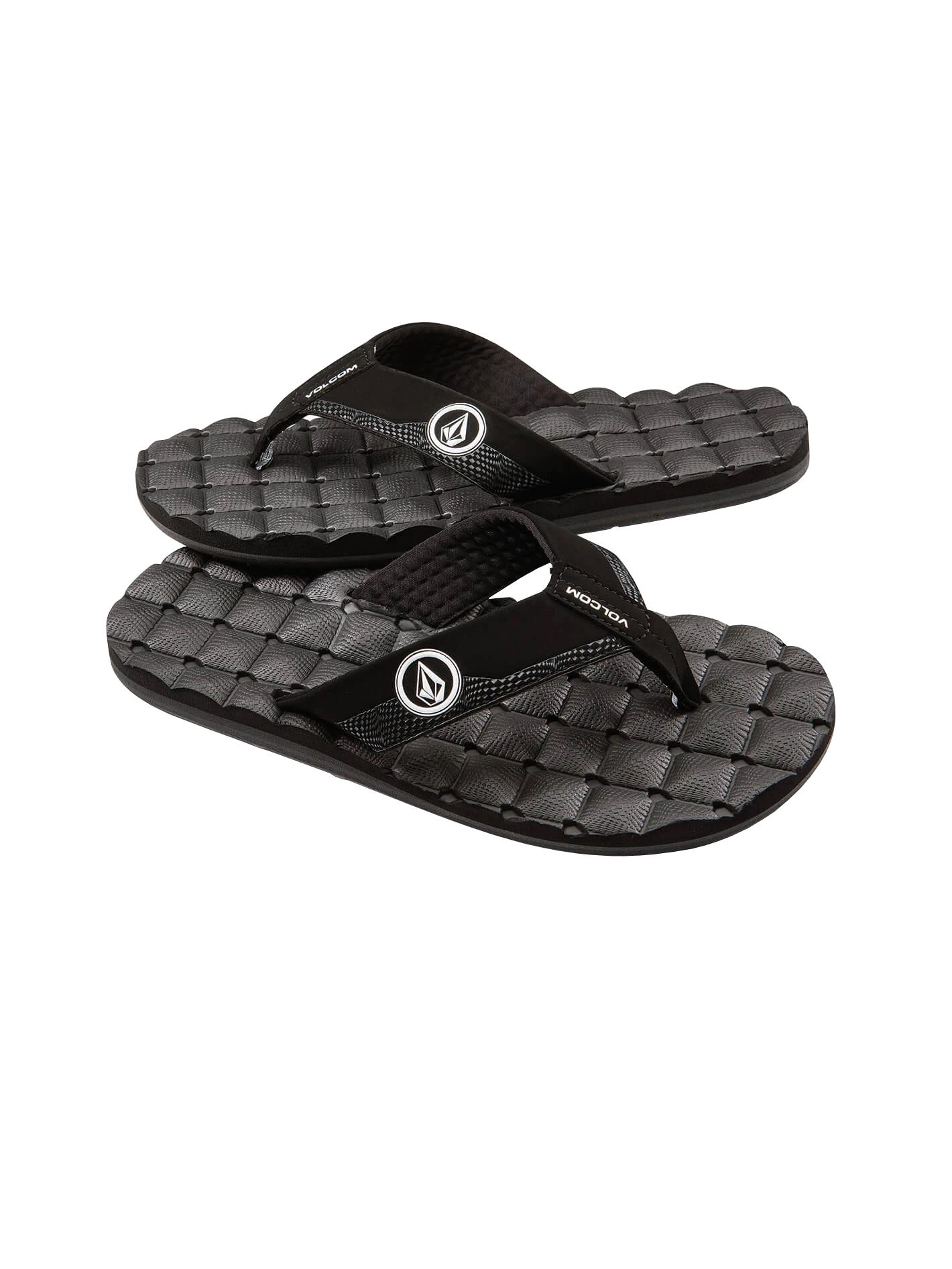 Volcom Kids Recliner Big Youth Flip Flop Sandal