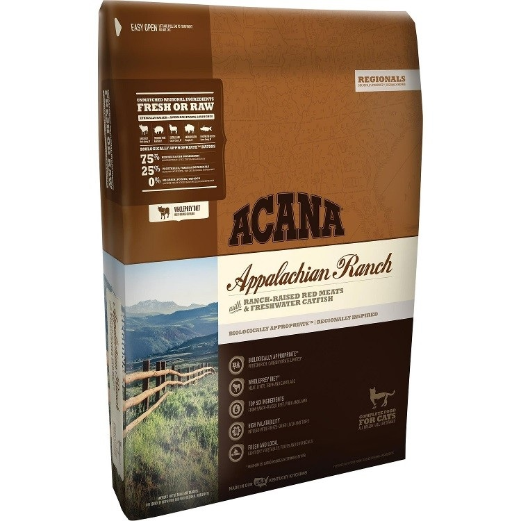 ACANA Appalachian Ranch Regional Grain-Free Dry Cat Food 4lbs
