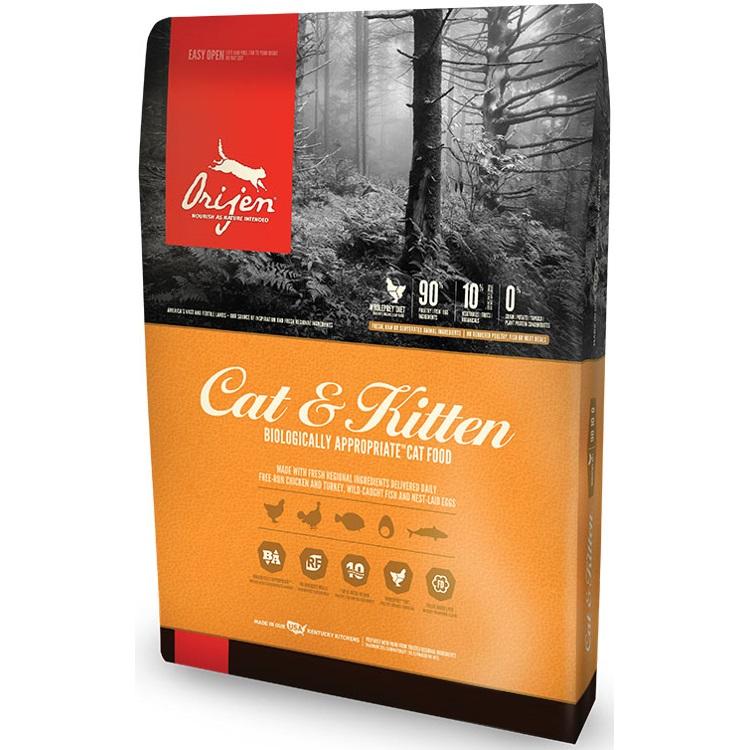 Orijen Cat & Kitten Grain-Free Dry Cat Food 12lbs