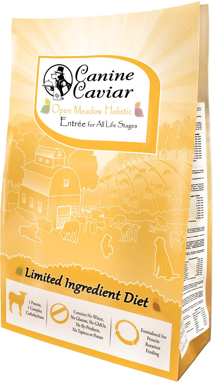 Canine Caviar Limited Ingredient Diet Open Meadow Holistic Entree Dry Dog Food 11lbs