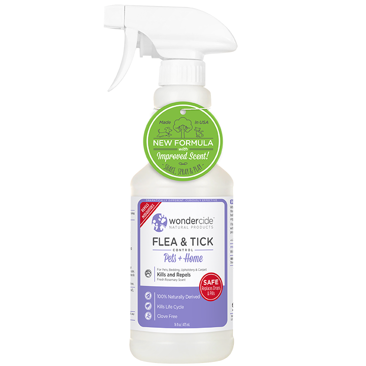 Wondercide 'FLEA & TICK' Natural Flea, Tick & Mosquito Control for Dogs, Cats & Home - Rosemary Scent 16z