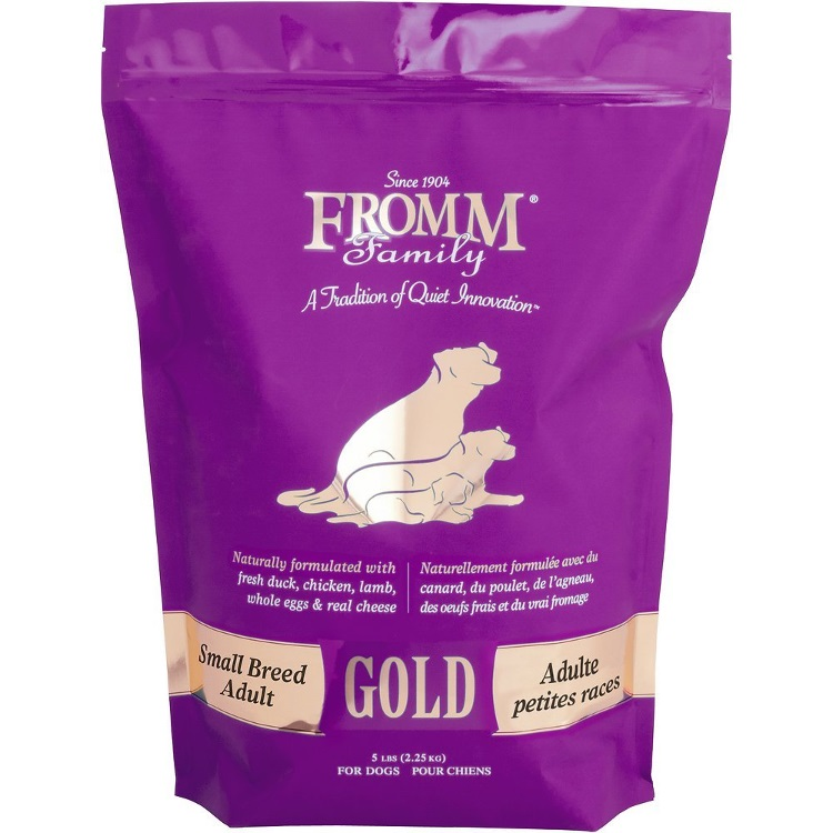 Fromm Gold Small Breed Adult Dry Dog Food 5lbs