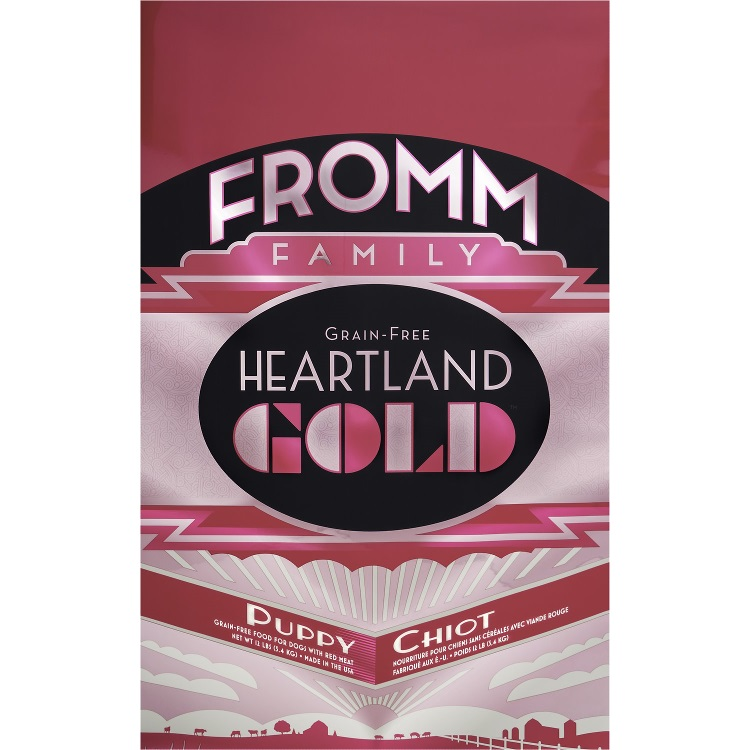 Fromm Heartland Gold Grain-Free Puppy Dry Dog Food 12lbs