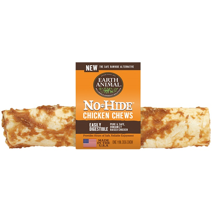 Earth Animal No Hide Chicken Chews Dog Treat 11'', 12