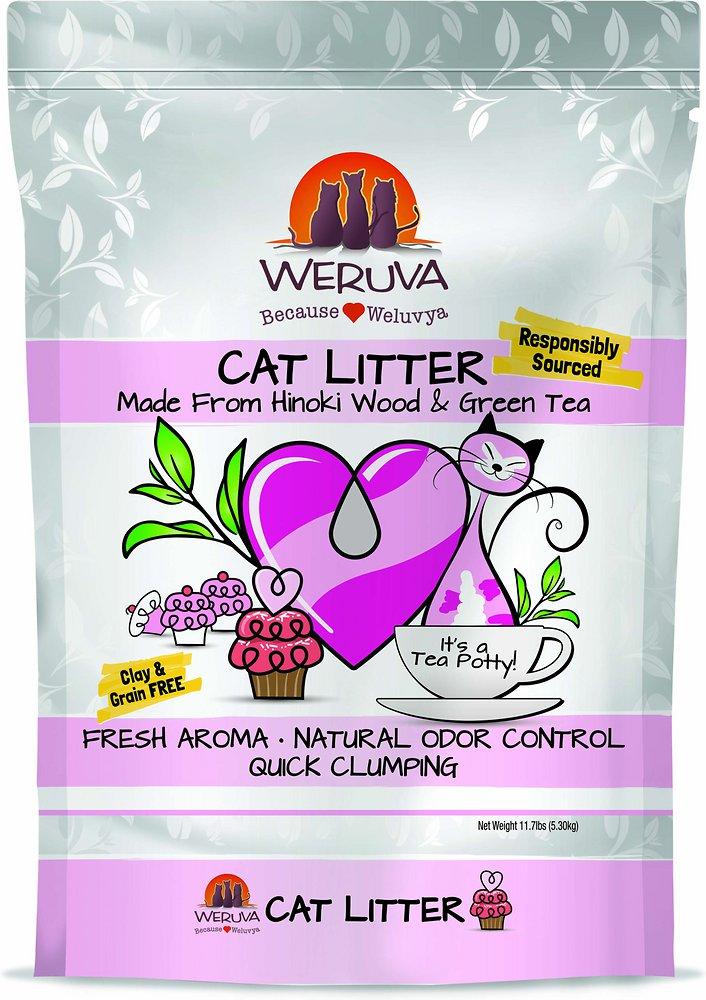 Weruva Natural Quick Clumping Cat Litter 11.7lbs