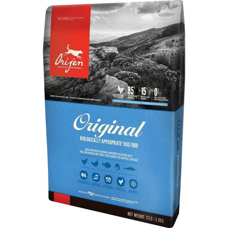 Orijen Adult Grain-Free Dry Dog Food 13lbs