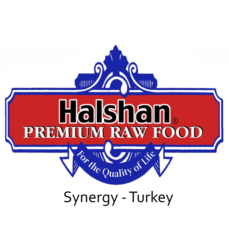 Halshan Synergy Turkey Raw Frozen Dog Food 1lbs